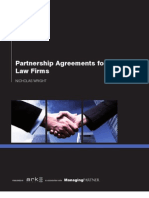 Partnership Agreements for Law Firms