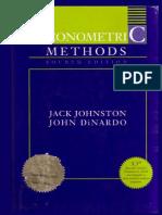 Johnston Dinardo Econometric Methods
