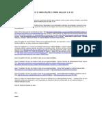 MATERIAL DIDÁTICO E INDICAÇÕES PARA AULAS 1 A 10