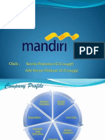 Company Profile Bank Mandiri