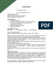 HISTORIA CLINICA - Sd Mielodisplasico