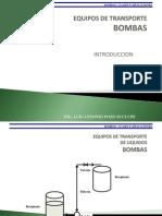 Bombas,Clases y Usos