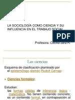 la sociología como ciencia