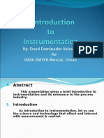 Basic Training Instrumentation and Process Control Part 1