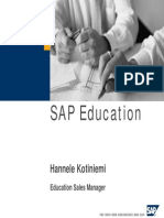 Sap Project Training