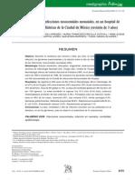 Epidemiología de las infecciones nosocomiales neonatales, en un hospital de especialidades pediatricas de la ciudad de Mexico
