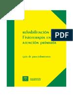 62947840 Rehabilitacion Fisioterapia Atencion Primaria