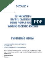 PSICOLOGÍA SOCIAL(LA NEGOCIACIÓN)