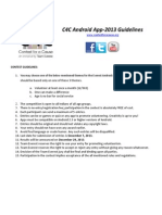 C4C2013 Android Guidelines