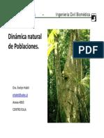 Dinamica Natural de Poblaciones