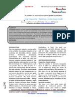 Study of Analgesic Activity