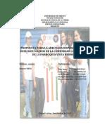 Adecuada Disposicion de Los Desechos Solidos en El Sector La Mariquita