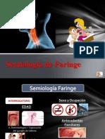 Semiología de Faringe