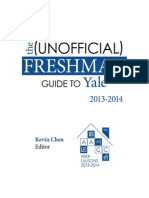 The Unofficial Freshman Guide to Yale, 2013-2014