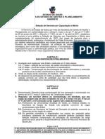 Edital Meritocracia 5o. Processo