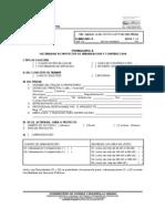 1 Formulario a Comtiene Calificacion Lugar Linea de Construcion Factibilidad de Aguas y Dsitribucion Vial