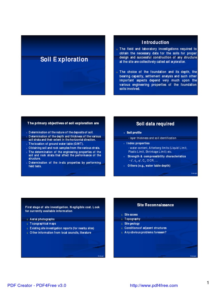 Ce20100lecture4 Gps And Soil Explorationpdf Global