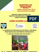 Itinerario Del Maestro de Portador a Productor de Saber Pedagogico