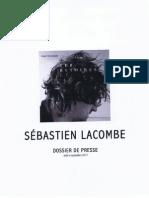 Sebastien Lacombe Revue de Presse 2012