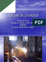 Notiuni de Liturgica