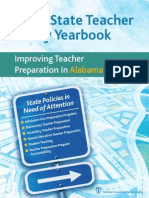 2012 State Teacher Policy Yearbook Alabama NCTQ Report