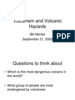 Volcanism and Volcanic Hazards