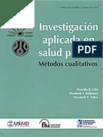 Investigacion Aplicada en Salud Publica
