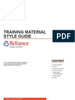 RHC Training Style Guide