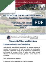 139366697 Clase IV Topografia Minera Subterranea Parte II
