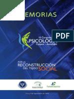 III Congreso Nal Psicologia-Memorias