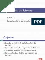 1 Introduccion Ingenieria Software
