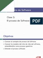 2 Proceso de Software