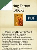 writing forum 2012 2013