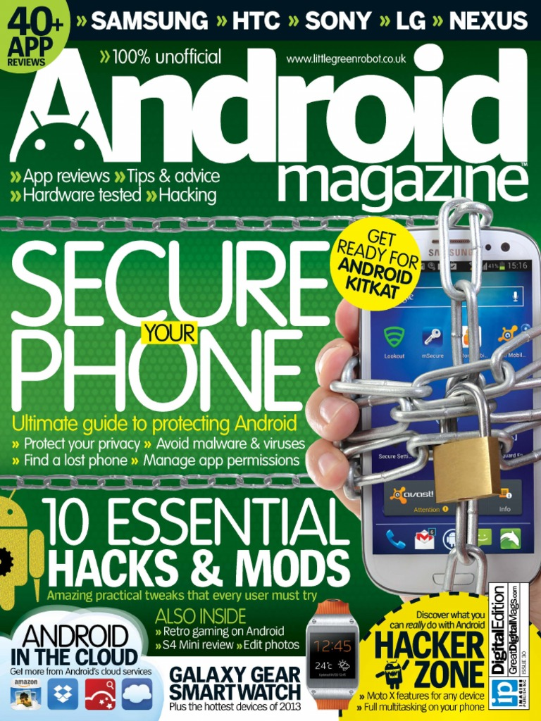 Android Magazine Issue 30 - 2013 UK | Android (Operating System