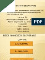 SCOALA ALTFEL- Fizica in Ghicitori Si Epigrame- 11-RO