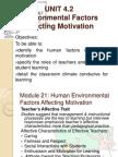 Facilitating Learning Environmental Factors Slides