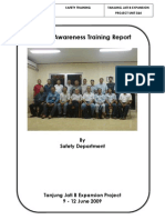 Safety Awareness Training