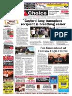 Weekly Choice - October 10, 2013