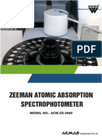 Zeeman Atomic Absorption Spectrophotometer