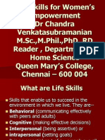 Life Skills for women's empowerment.ppt