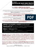 Registro de Inscripcion Para Liber. Crist