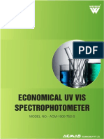 Economical UV VIS