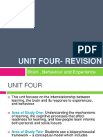 unit four- revison