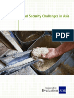 Food Security Challenges in Asia