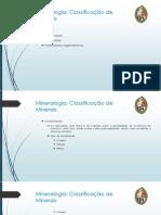 Aula 03 - Mineralogia Básica II
