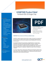 GDM7240 GCT Semiconductor ProductBrief