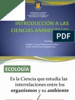 Clase 2. Ecologia - Organismos