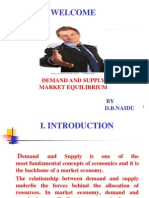 Demand and Supply-market Equilibrium