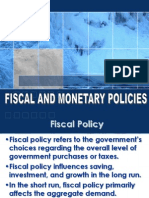 Fiscal&Monetary Policy