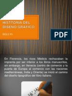 HISTTORIA DEL DISEÑO GRAFICO xv